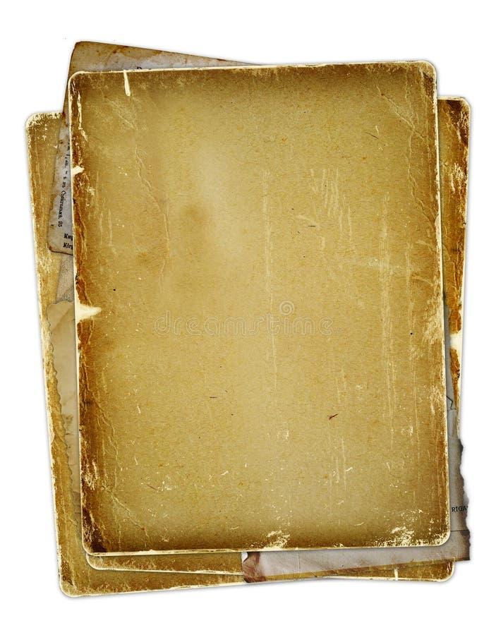 отпечатанные полосы смычка старые стоковые изображения