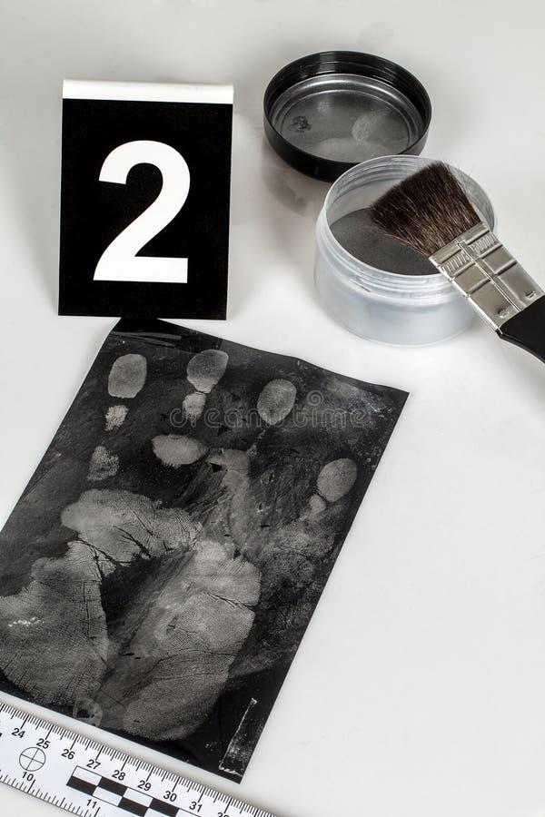 Отпечаток пальцев стоковые фотографии rf