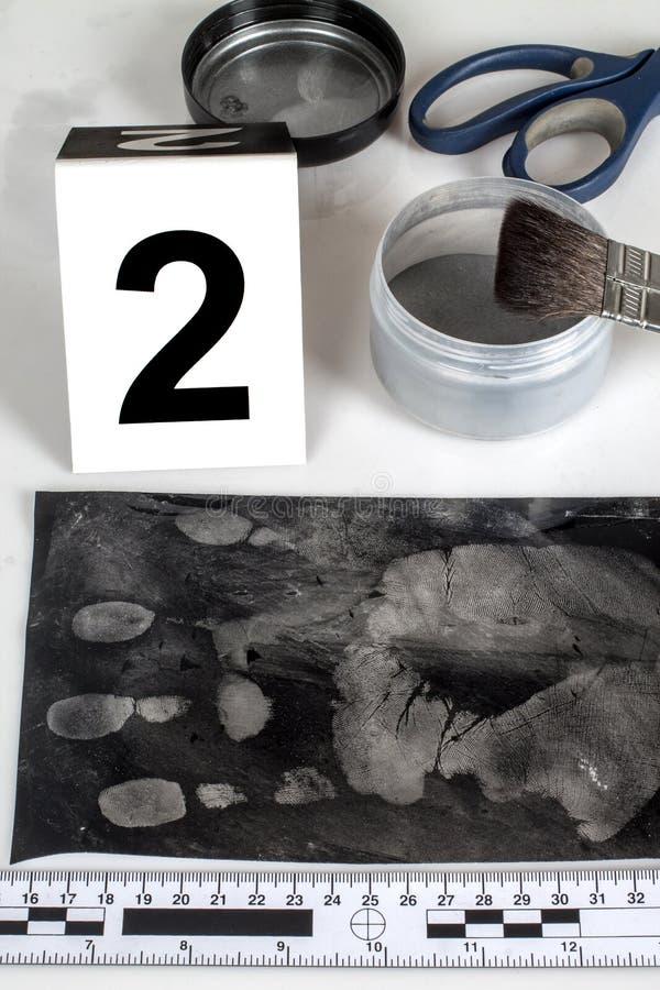 Отпечаток пальцев стоковое изображение