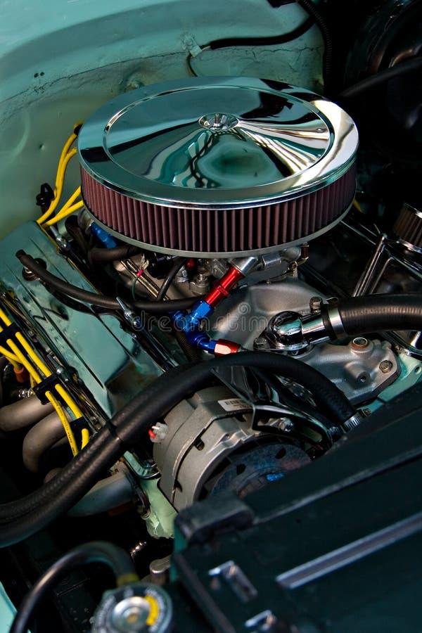 Отполированный двигатель Стоковые Изображения
