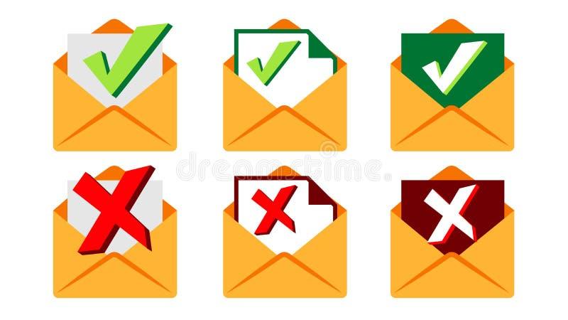 Отправленный вектор Сообщение документа электронной почты отправило поставка голодает Символ столба иллюстрация иллюстрация вектора