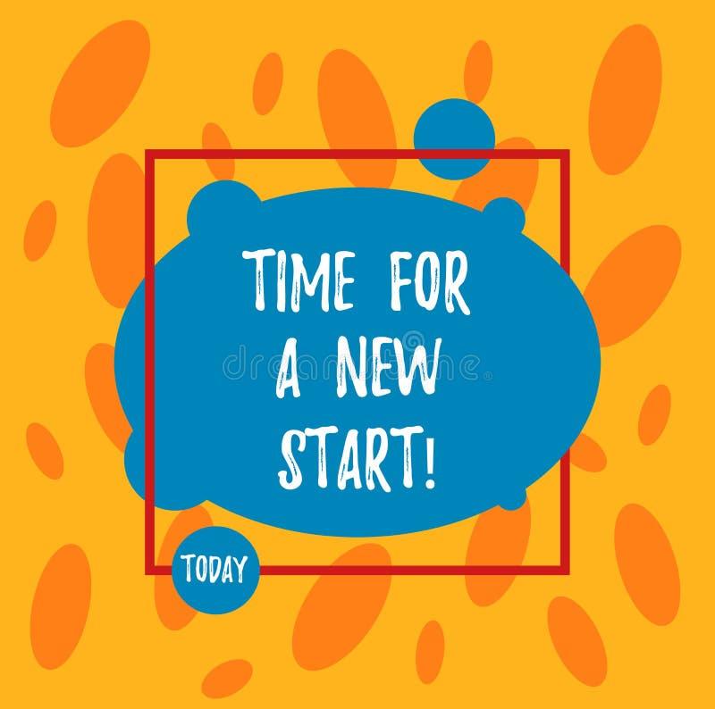 Отправьте СМС знак показывая время для нового старта Схематическое доверие фото волшебство второго рождения начал свежего нового  бесплатная иллюстрация
