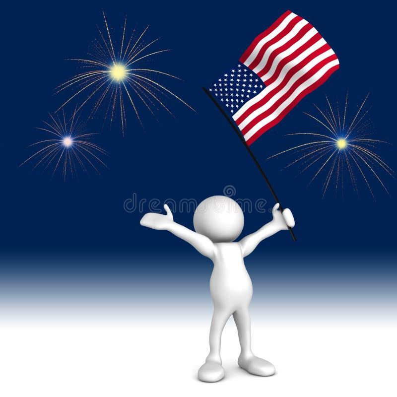 отпразднуйте независимость дня бесплатная иллюстрация