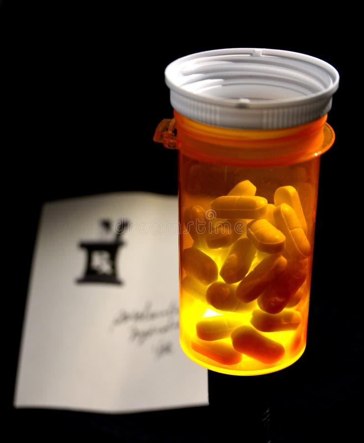 Отпускаемое по рецепту лекарство стоковые фотографии rf