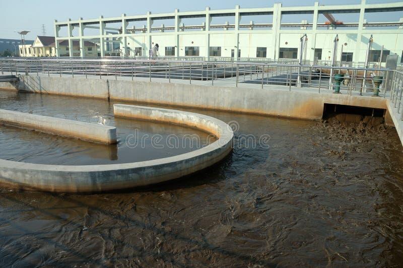 отработанная вода обработки стоковые изображения rf