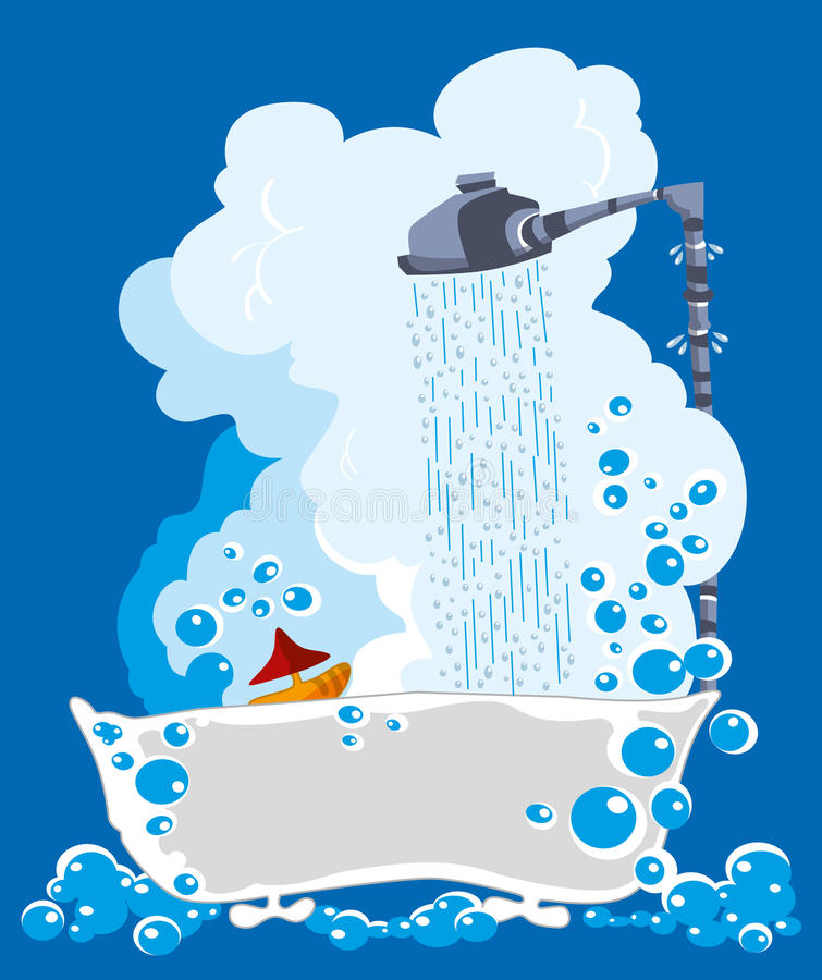 Отработанная вода бесплатная иллюстрация