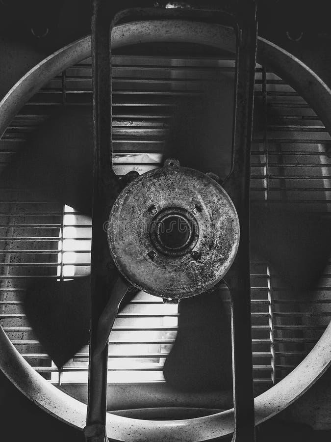 Отработанный вентилятор стоковые фотографии rf
