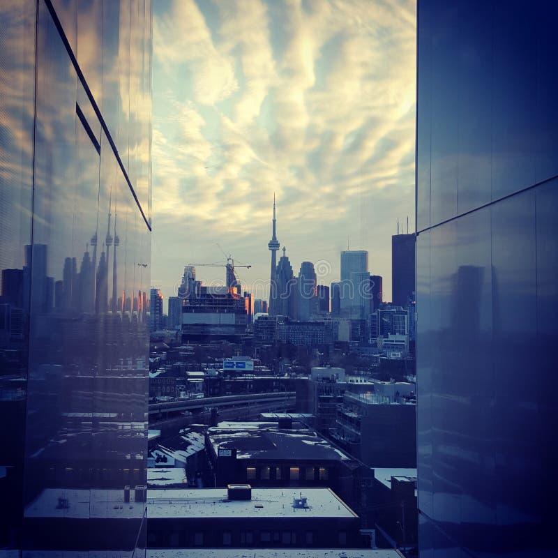 Отражая Торонто стоковое изображение rf