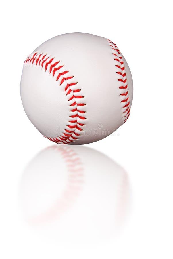отражение бейсбола стоковые изображения rf