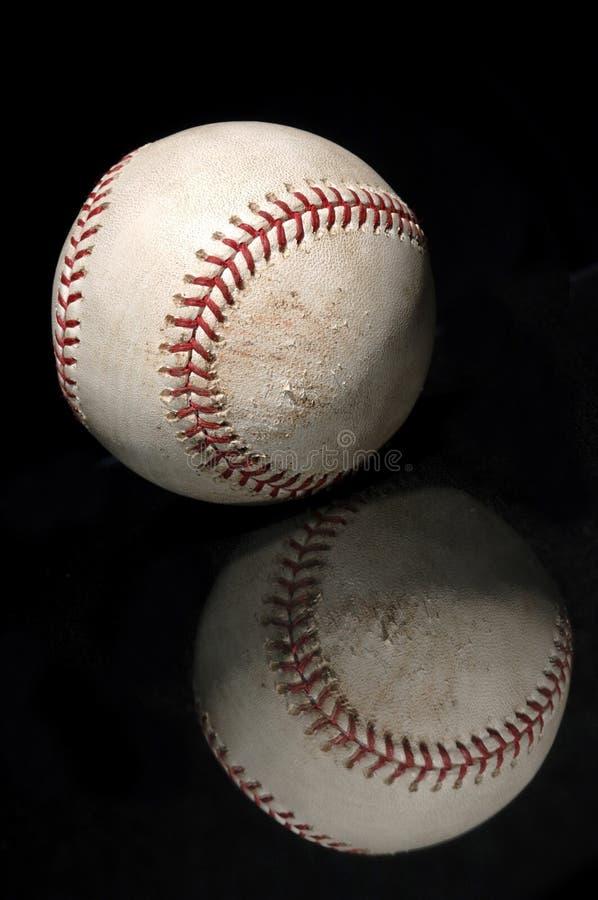 отражение бейсбола стоковое фото