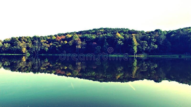 Отражение воды стоковые фотографии rf