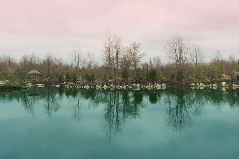 Отражение воды стоковые изображения rf
