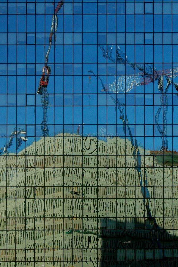 Отражение конструкции стоковые изображения rf