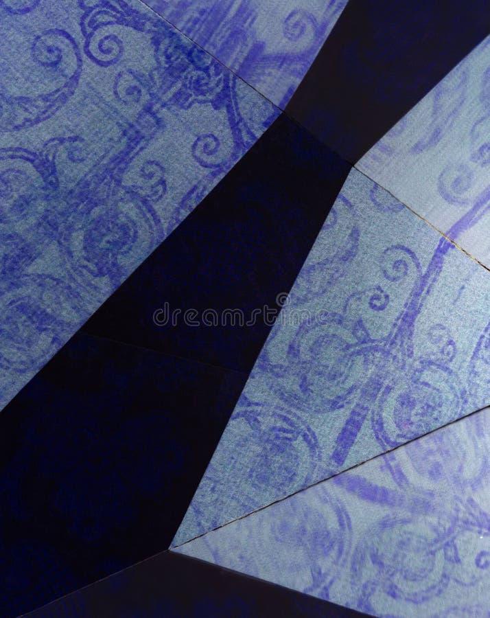 Отражение напечатанных картин стоковые изображения rf