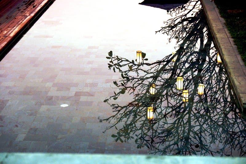 Отражение стоковое фото