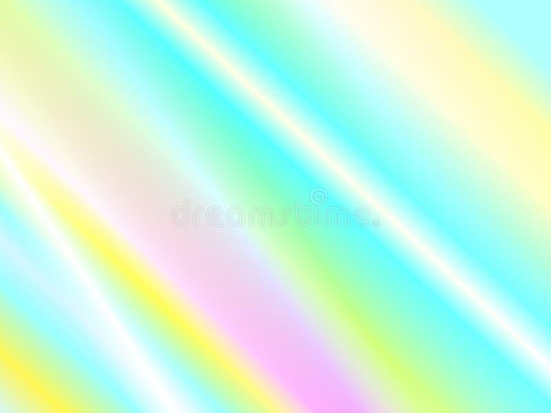 Отражение радуги и текстура световых лучей бесплатная иллюстрация