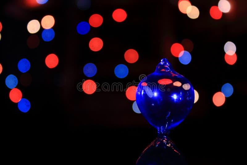 Отражение стеклянного шарика стоковые изображения rf