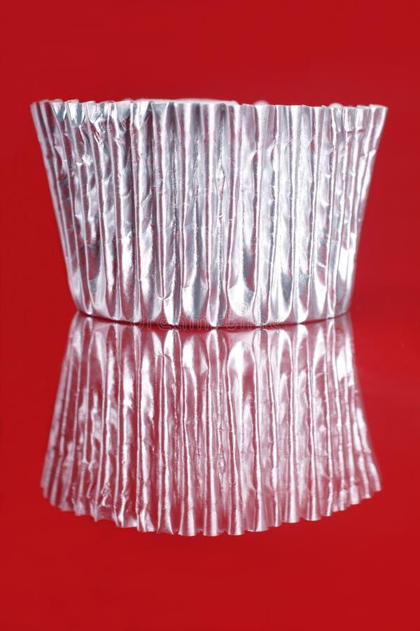 отражение чашки торта стоковое фото rf