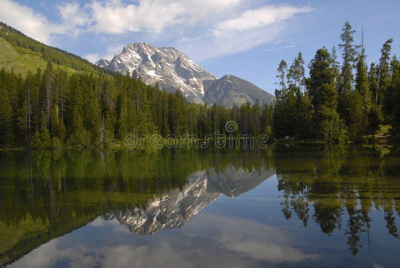 отражение leigh озера стоковое изображение