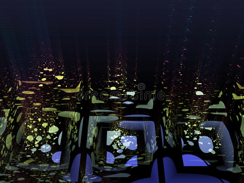 Отражения воды стоковые фотографии rf