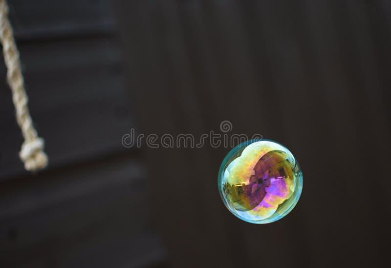 Отражения в пузыре стоковые изображения