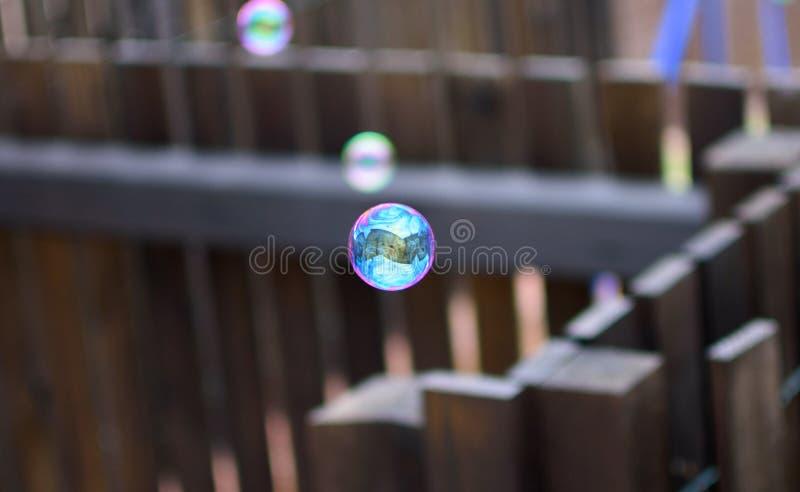 Отражения в пузыре стоковое изображение rf
