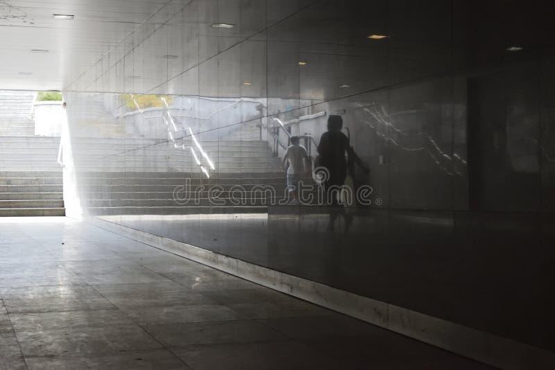 Отражения города стоковые изображения