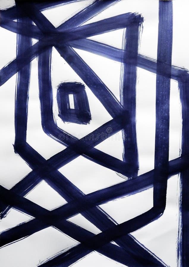Отражения диско в коридоре зеркала иллюстрация вектора
