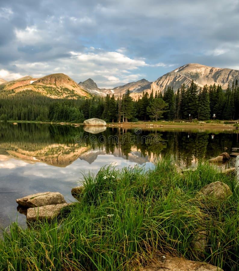 Отражения озера Brainard стоковое изображение