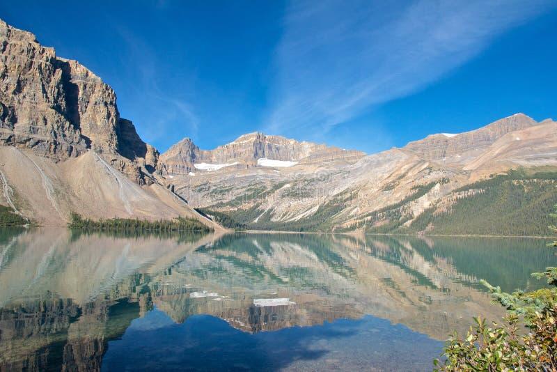 Отражения 1 озера смычк стоковые фото