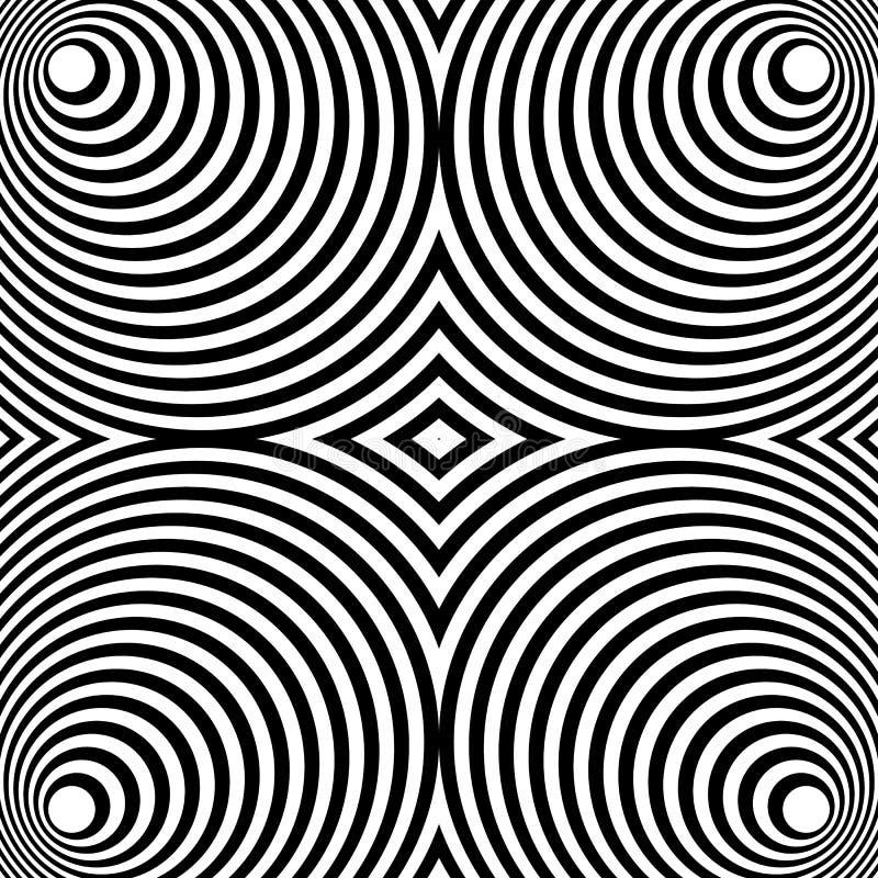 Download Отраженная симметричная картина с концентрическими кругами Абстрактный M Иллюстрация вектора - иллюстрации насчитывающей uncolored, симметрично: 81815275