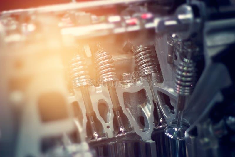 Отрежьте машинную часть автомобиля металла стоковое фото