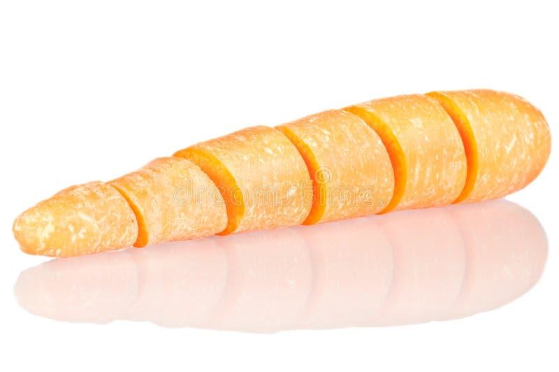 Отрежьте морковь стоковое фото rf