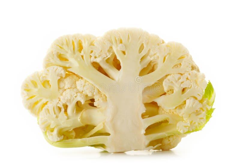Отрежьте cauliflower стоковые изображения