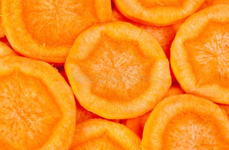 отрезанная морковь стоковое изображение rf