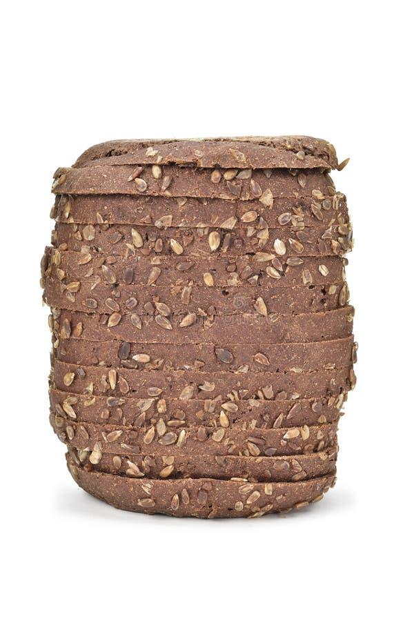 отрезанная рож хлеба стоковые фото