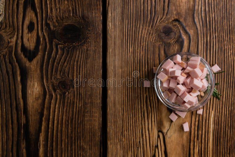 Отрезанная сосиска (ерунда) стоковые изображения