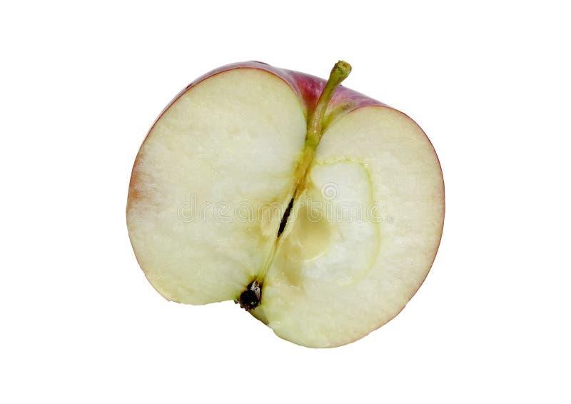 отрезанное яблоко стоковое фото rf