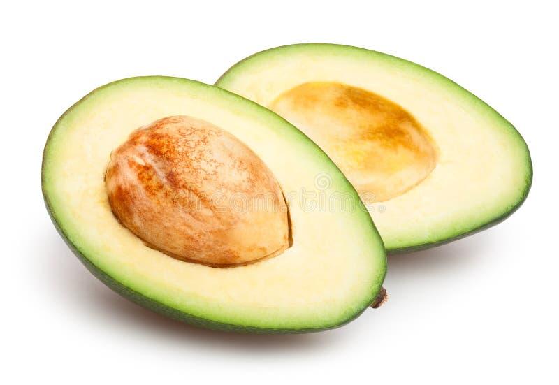 отрезанный авокадо стоковые изображения rf