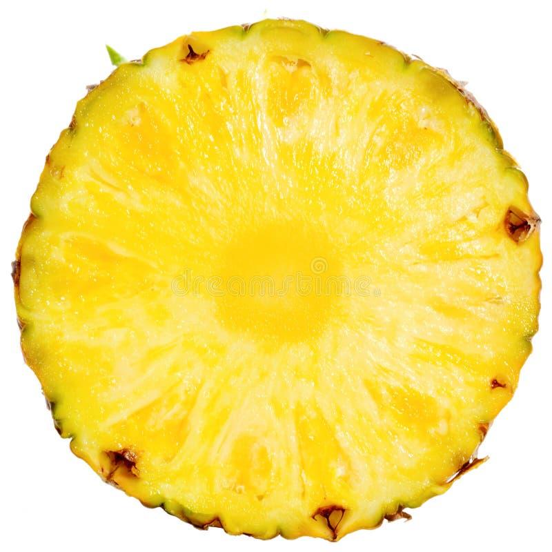 отрезанный ананас стоковое фото rf