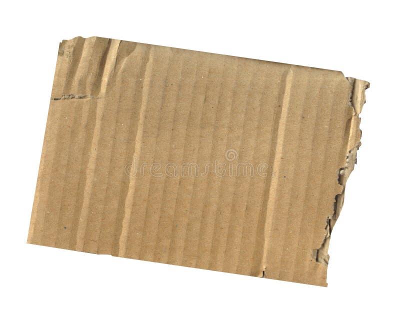 отрезанный картон сорванным стоковые изображения