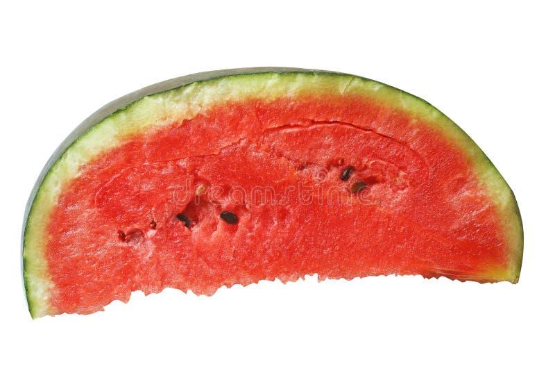 Отрезанный свежего арбуза стоковая фотография rf