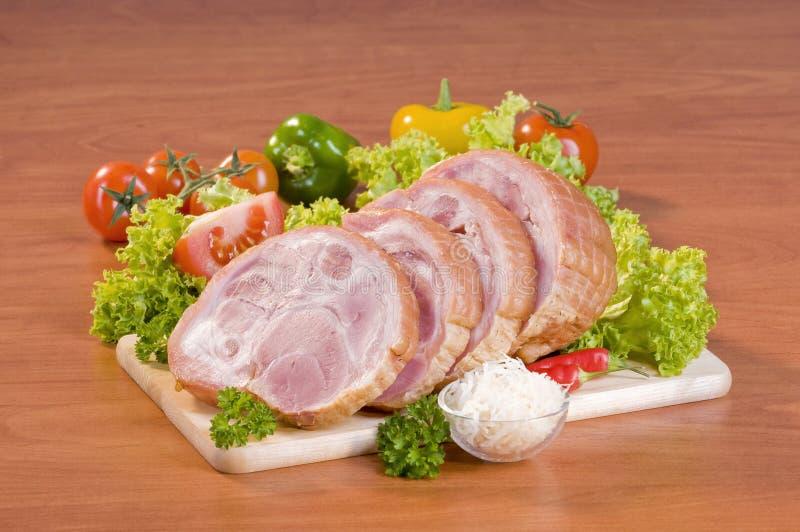 отрезанный свинина колена стоковое изображение rf