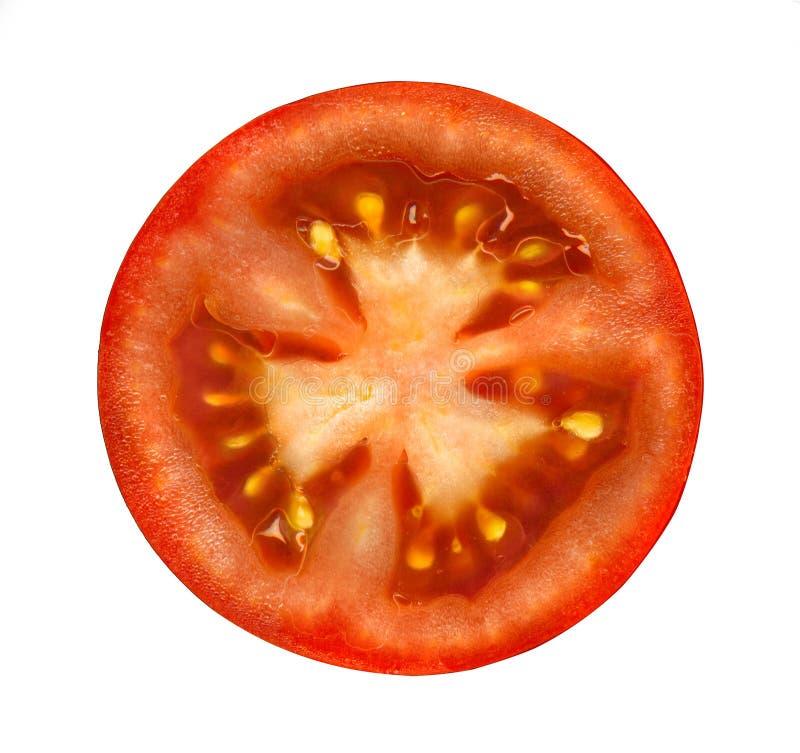 Отрезанный томат стоковая фотография rf