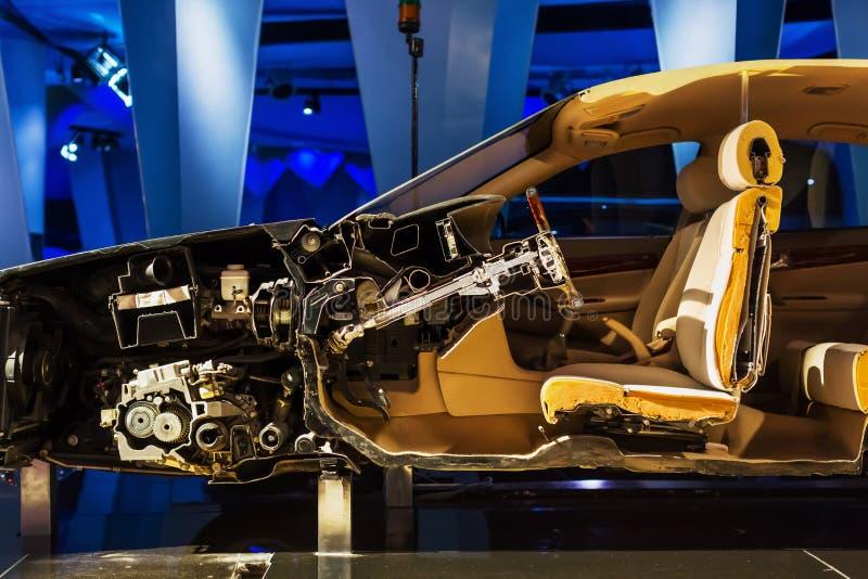 Отрезок автомобиля стоковая фотография rf