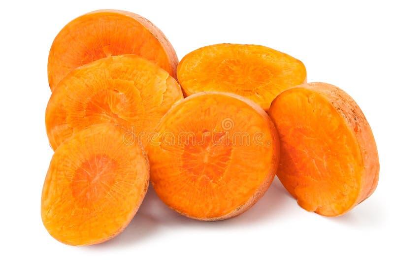 отрезок моркови стоковое фото rf