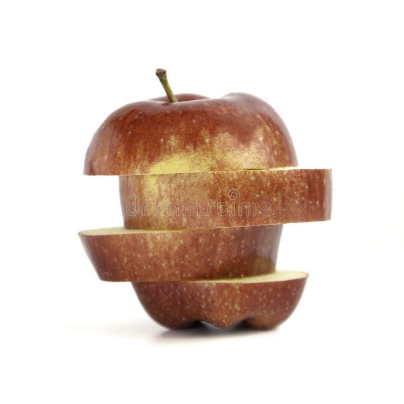отрезок яблока стоковое фото