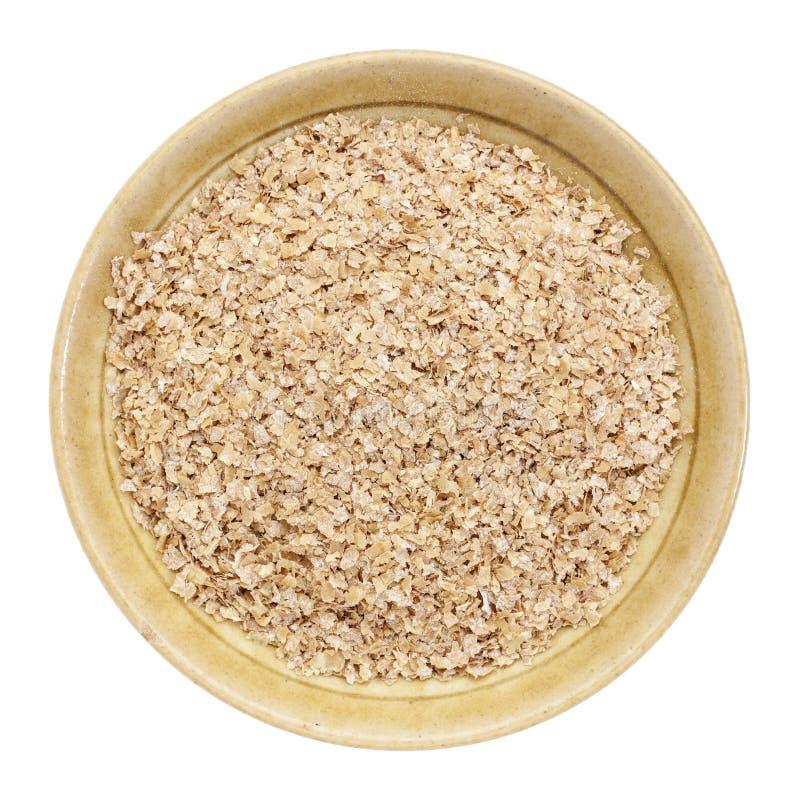 Отруби пшеницы стоковая фотография rf