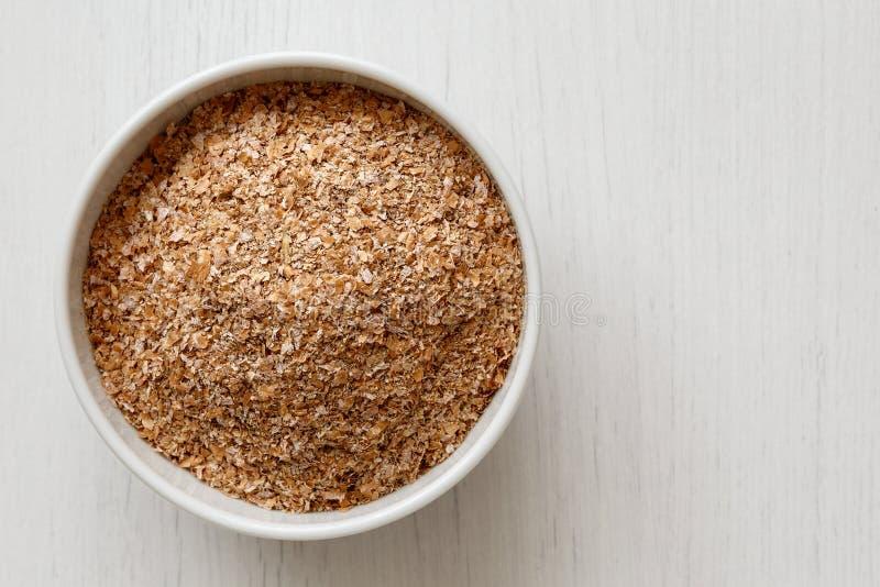 Отруби пшеницы стоковое фото