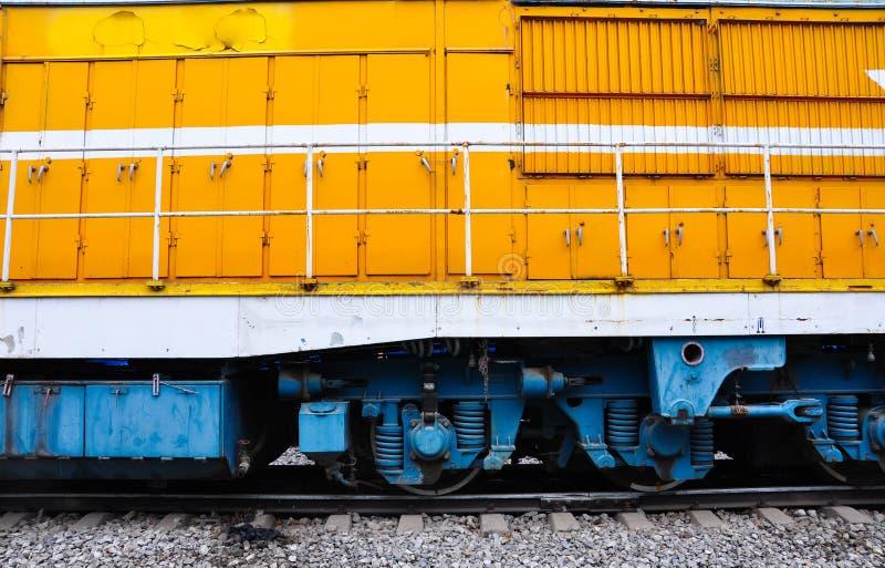 отсек поезда стоковое изображение rf